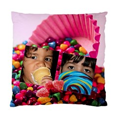 Candy Hearts  By Ivelyn   Standard Cushion Case (two Sides)   Erq728z0k313   Www Artscow Com Front