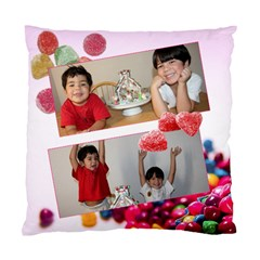 Candy Hearts  By Ivelyn   Standard Cushion Case (two Sides)   Erq728z0k313   Www Artscow Com Back