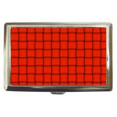 Ferrari Red Weave Cigarette Money Case by BestCustomGiftsForYou