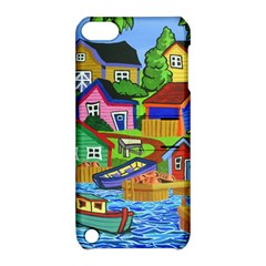 Three Boats & A Fish Table Apple Ipod Touch 5 Hardshell Case With Stand by reillysart