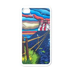 Cape Bonavista Lighthouse Apple Iphone 4 Case (white) by reillysart