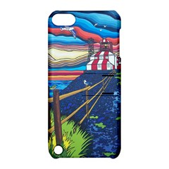 Cape Bonavista Lighthouse Apple Ipod Touch 5 Hardshell Case With Stand by reillysart