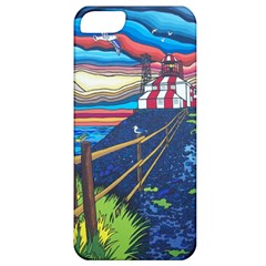 Cape Bonavista Lighthouse Apple Iphone 5 Classic Hardshell Case by reillysart