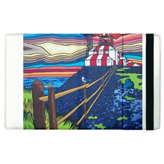 Cape Bonavista Lighthouse Apple Ipad 3/4 Flip Case by reillysart