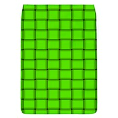 Bright Green Weave Removable Flap Cover (small) by BestCustomGiftsForYou