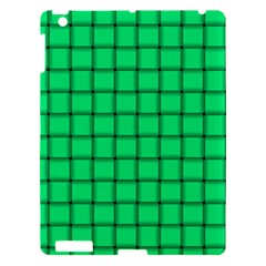 Spring Green Weave Apple Ipad 3/4 Hardshell Case by BestCustomGiftsForYou
