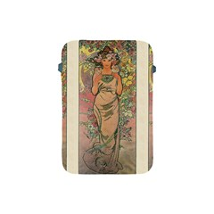 Die Rose By Alfons Mucha 1898 Apple iPad Mini Protective Soft Case by EndlessVintage
