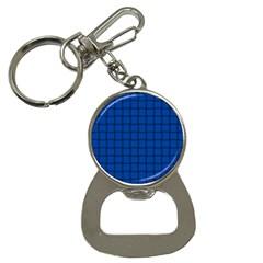 Cobalt Weave Bottle Opener Key Chain by BestCustomGiftsForYou