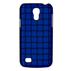 Cobalt Weave Samsung Galaxy S4 Mini Hardshell Case  by BestCustomGiftsForYou