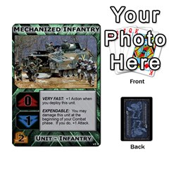 Battletech: Domination V2 1 Supply Cards By Scott Heise   Playing Cards 54 Designs   Zqq7ttyiolkk   Www Artscow Com Front - Heart8