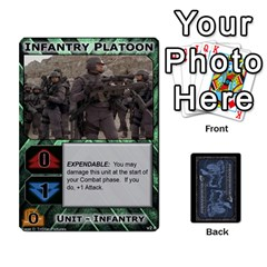 Battletech: Domination V2 1 Supply Cards By Scott Heise   Playing Cards 54 Designs   Zqq7ttyiolkk   Www Artscow Com Front - Heart9