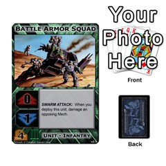 Jack Battletech: Domination V2 1 Supply Cards By Scott Heise   Playing Cards 54 Designs   Zqq7ttyiolkk   Www Artscow Com Front - HeartJ