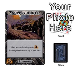 Queen Battletech: Domination V2 1 Supply Cards By Scott Heise   Playing Cards 54 Designs   Zqq7ttyiolkk   Www Artscow Com Front - HeartQ