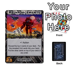 Battletech: Domination V2 1 Supply Cards By Scott Heise   Playing Cards 54 Designs   Zqq7ttyiolkk   Www Artscow Com Front - Diamond4