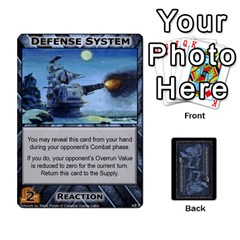Battletech: Domination V2 1 Supply Cards By Scott Heise   Playing Cards 54 Designs   Zqq7ttyiolkk   Www Artscow Com Front - Diamond5