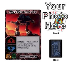 Battletech: Domination V2 1 Supply Cards By Scott Heise   Playing Cards 54 Designs   Zqq7ttyiolkk   Www Artscow Com Front - Spade5