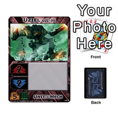 Battletech: Domination V2 1 Supply Cards By Scott Heise   Playing Cards 54 Designs   Zqq7ttyiolkk   Www Artscow Com Front - Spade6