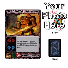 Battletech: Domination V2 1 Supply Cards By Scott Heise   Playing Cards 54 Designs   Zqq7ttyiolkk   Www Artscow Com Front - Club9