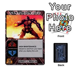 Jack Battletech: Domination V2 1 Supply Cards By Scott Heise   Playing Cards 54 Designs   Zqq7ttyiolkk   Www Artscow Com Front - ClubJ