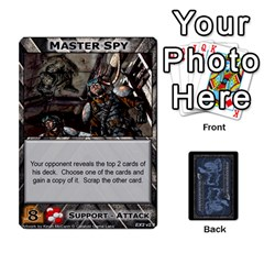 King Battletech: Domination V2 1 Supply Cards By Scott Heise   Playing Cards 54 Designs   Zqq7ttyiolkk   Www Artscow Com Front - ClubK