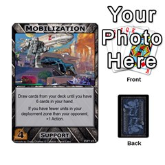 Battletech: Domination V2 1 Supply Cards By Scott Heise   Playing Cards 54 Designs   Zqq7ttyiolkk   Www Artscow Com Front - Joker2