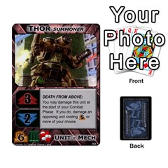 Battletech: Domination V2 1 Supply Cards By Scott Heise   Playing Cards 54 Designs   Zqq7ttyiolkk   Www Artscow Com Front - Spade9