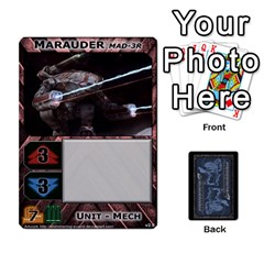 Battletech: Domination V2 1 Supply Cards By Scott Heise   Playing Cards 54 Designs   Zqq7ttyiolkk   Www Artscow Com Front - Spade10