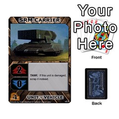 Jack Battletech: Domination V2 1 Supply Cards By Scott Heise   Playing Cards 54 Designs   Zqq7ttyiolkk   Www Artscow Com Front - SpadeJ
