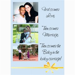 Pregnancy Announcement By Erika   5  X 7  Photo Cards   9a5zexlzmmj3   Www Artscow Com 7 x5 Photo Card - 9