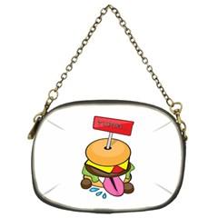 BurgerYUMM Chain Purse (Two Side)