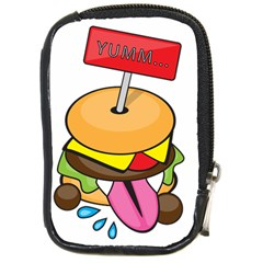 Burgeryumm Compact Camera Leather Case by Walands