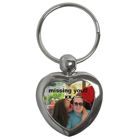 Mami Keychain By Giti   Key Chain (heart)   281d6jvl8oaw   Www Artscow Com Front