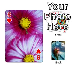 Playing Cards By Molly   Playing Cards 54 Designs   Jezw1pby4vbz   Www Artscow Com Front - Heart8