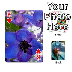 King Playing Cards By Molly   Playing Cards 54 Designs   Jezw1pby4vbz   Www Artscow Com Front - HeartK