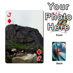 Jack Playing Cards By Molly   Playing Cards 54 Designs   Jezw1pby4vbz   Www Artscow Com Front - DiamondJ