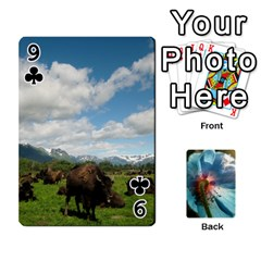 Playing Cards By Molly   Playing Cards 54 Designs   Jezw1pby4vbz   Www Artscow Com Front - Club9