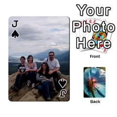 Jack Playing Cards By Molly   Playing Cards 54 Designs   Jezw1pby4vbz   Www Artscow Com Front - SpadeJ