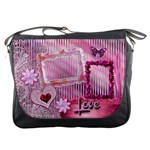 Love Pink pastel Messenger bag
