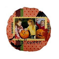 Helloween By Helloween   Standard 15  Premium Round Cushion    6c24q8zgtnl9   Www Artscow Com Front