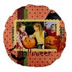 helloween - Large 18  Premium Round Cushion