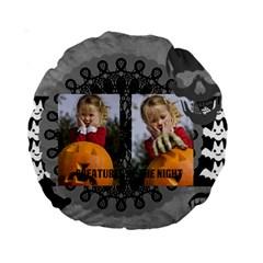 Helloween By Helloween   Standard 15  Premium Round Cushion    Vfbc4iav5ejk   Www Artscow Com Back