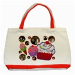 sweet patches - Classic Tote Bag (Red)