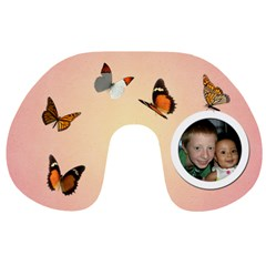 Butterfly Neck Pillow By Angeye   Travel Neck Pillow   4ga0akwnok9n   Www Artscow Com Front