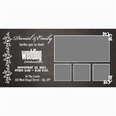 Wedding Invite By Emily   4  X 8  Photo Cards   O7tx69wcfowo   Www Artscow Com 8 x4 Photo Card - 7