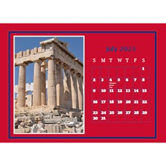 A Little Perfect Desktop Calendar (8 5x6) By Deborah   Desktop Calendar 8 5  X 6    Ilftinvongms   Www Artscow Com Jul 2018