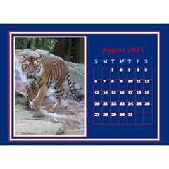A Little Perfect Desktop Calendar (8 5x6) By Deborah   Desktop Calendar 8 5  X 6    Ilftinvongms   Www Artscow Com Aug 2018