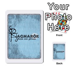 Ragnarokcardset By Pixatintes   Multi Purpose Cards (rectangle)   Vxnjvvki7xd7   Www Artscow Com Back 9