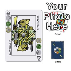 Decktet Español By Pixatintes   Playing Cards 54 Designs   B8h3t7caj6fh   Www Artscow Com Front - Spade2