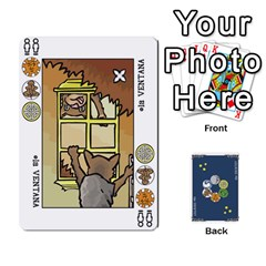 Decktet Español By Pixatintes   Playing Cards 54 Designs   B8h3t7caj6fh   Www Artscow Com Front - Spade4