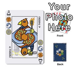Decktet Español By Pixatintes   Playing Cards 54 Designs   B8h3t7caj6fh   Www Artscow Com Front - Diamond3